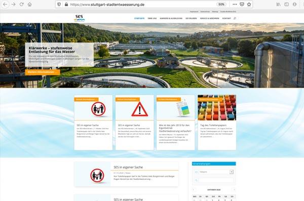 Die Website der SES im Jubiläumsjahr – mit neuem Design in die mobile Zukunft