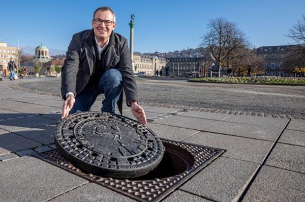 Deckel drauf – das Jubiläumsjahr der Stadtentwässerung Stuttgart geht zu Ende