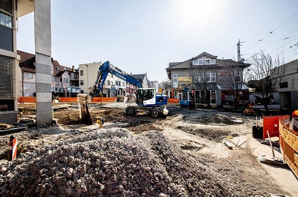 Aktuelle Baustelleninformation! Kanalerneuerung Untertürkheim